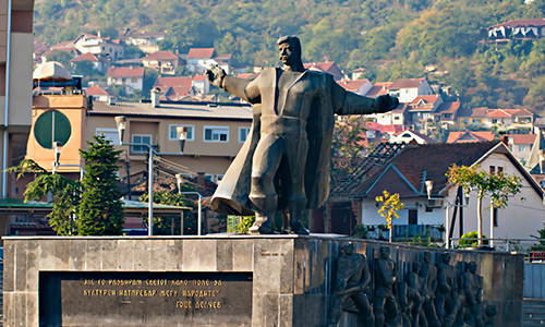 """Monument """"Goce Delchev"""" - Strumica"""