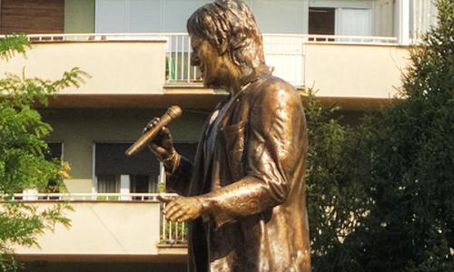 Monument of Goce Arnaudov - Strumica