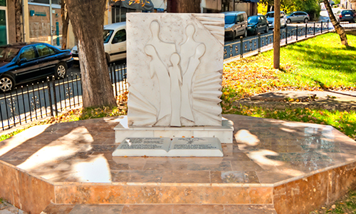 Monument of the Five Students from Strumica - Strumica